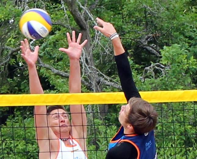 volleyball feld zeichnung